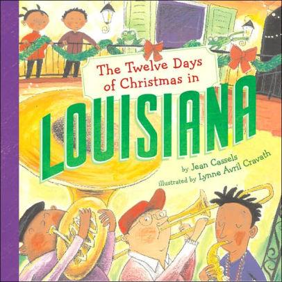 Books The Twelve Days of Christmas in Louisiana (hardcover)