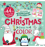 Books Christmas Cards to Color Book