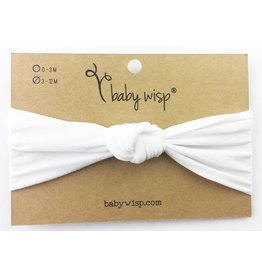 Baby Wisp Nylon Infant Turban Knot Headband -