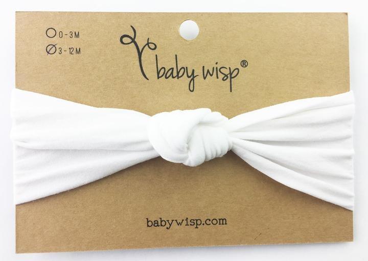 Baby Wisp Nylon Infant Turban Knot Headband -