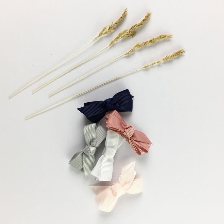 Baby Wisp Snap Clip Bow (Set of 5) - Baby Hype