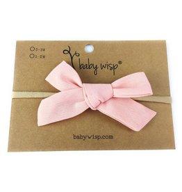 Baby Wisp Victoria Bow Nylon Headband -