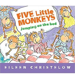 Books Five Little Monkeys Jumping on the Bed (board book)