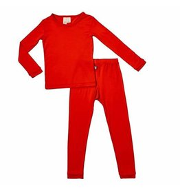 Kyte Baby Kyte Bamboo Toddler PJ Set - Crimson
