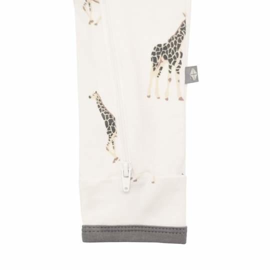 Kyte Baby Kyte Baby Bamboo Zippered Romper - Giraffe