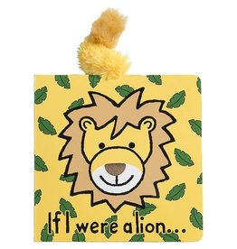 Jellycat If I Were a Lion - Touch and Feel Board Book