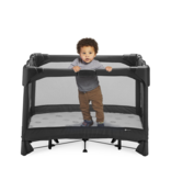 4moms 4 moms breeze plus portable playard with travel bag, changer and bassinet
