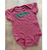 Two Sprouts Rudolph Gator Onesie