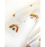 Emerson and Friends Rainbow Baby Bamboo Zipper Footie PJs
