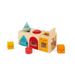Janod Toys Janod Wooden Geometric Shapes Box