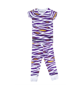 Little Hometown LSU Tiger Stripe Pajamas