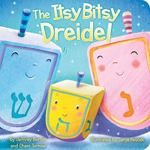 Books The Itsy Bitsy Dreidel Board Book