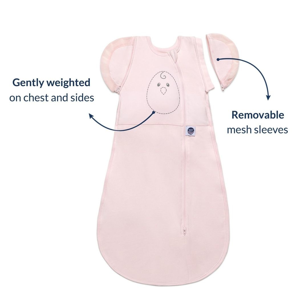 Nested Bean Zen One Classic Swaddle - Soft Pink