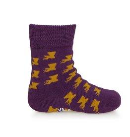 Bonfolk Bonfolk Buy One GIve One Socks - Baby Louisiana (0-12 mo)