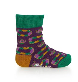 Bonfolk Bonfolk Buy One Give One Socks - Baby King Cake (0-12 mo)