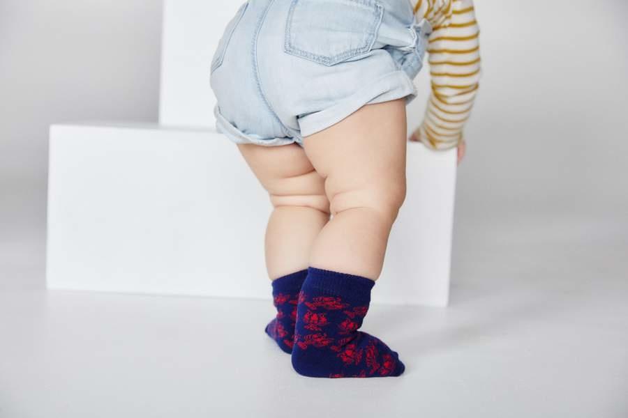 Bonfolk Bonfolk Buy One GIve One Socks - Baby Crawfish (0-12 mo)