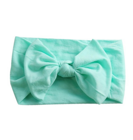 Emerson and Friends Wide Nylon Baby Headband with Bow -