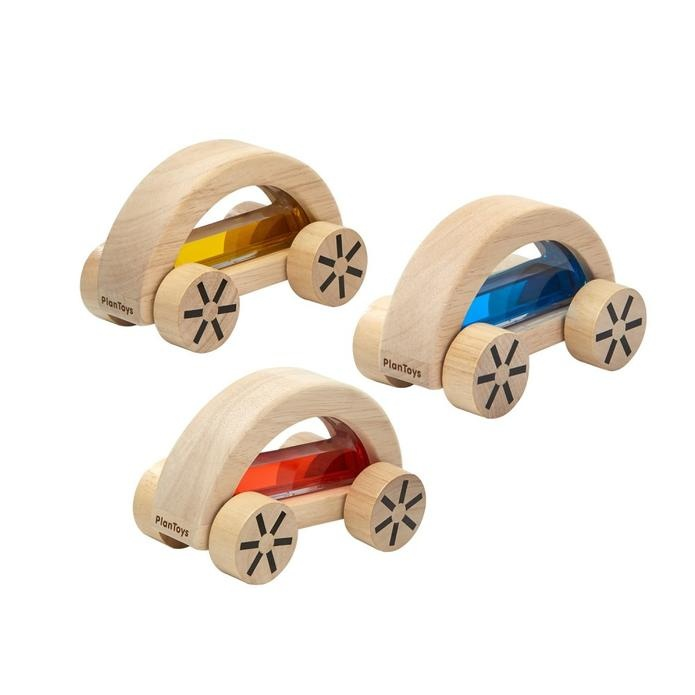 PlanToys Wautomobile Water Filled Wooden Toy Car