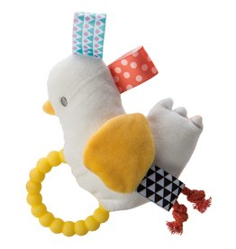 Mary Meyer Taggies Shake & Teethe Bird with Silicone Teether
