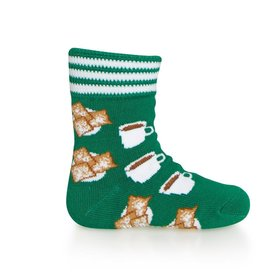 Bonfolk Bonfolk Buy One GIve One Socks - Beignet (0-12 mo)