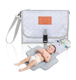 KeaBabies Compact Baby Diaper Mat Changing Pad