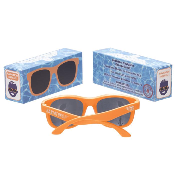Babiators Babiators Navigator Sunglasses - Orange Crush