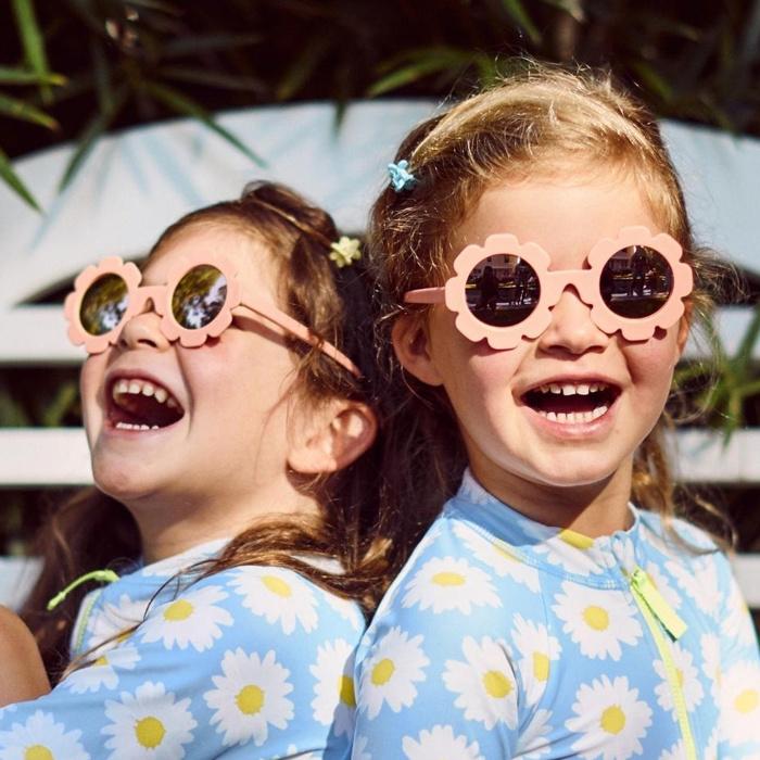 Babiators Babiators The Flower Child - Flower-shaped Polarized Sunglasses