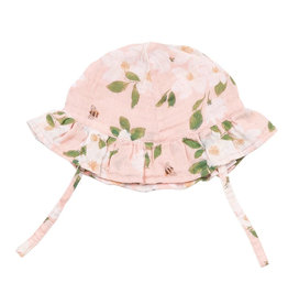 Angel Dear Magnolia Muslin Sunhat Pink -