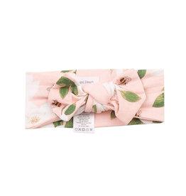 Angel Dear Magnolia Muslin Headband Pink
