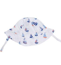 Angel Dear Nautical Boats Muslin Sunhat