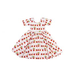 Nola Tawk Crawfish Second Line Organic Cotton Twirl Dress