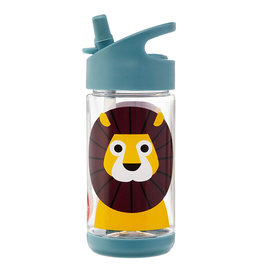 3 Sprouts Animal BPA-Free Flip Top Water Bottle