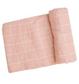 Angel Dear Off The Grid Swaddle Blanket - Pink
