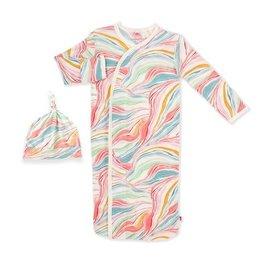 Magnetic Me Twirls & Swirls Modal Magnetic Gown & Hat Set