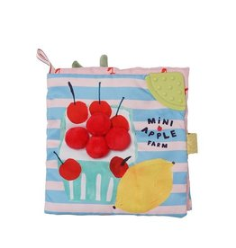 Manhattan Toys Mini Apple Soft Farm Book
