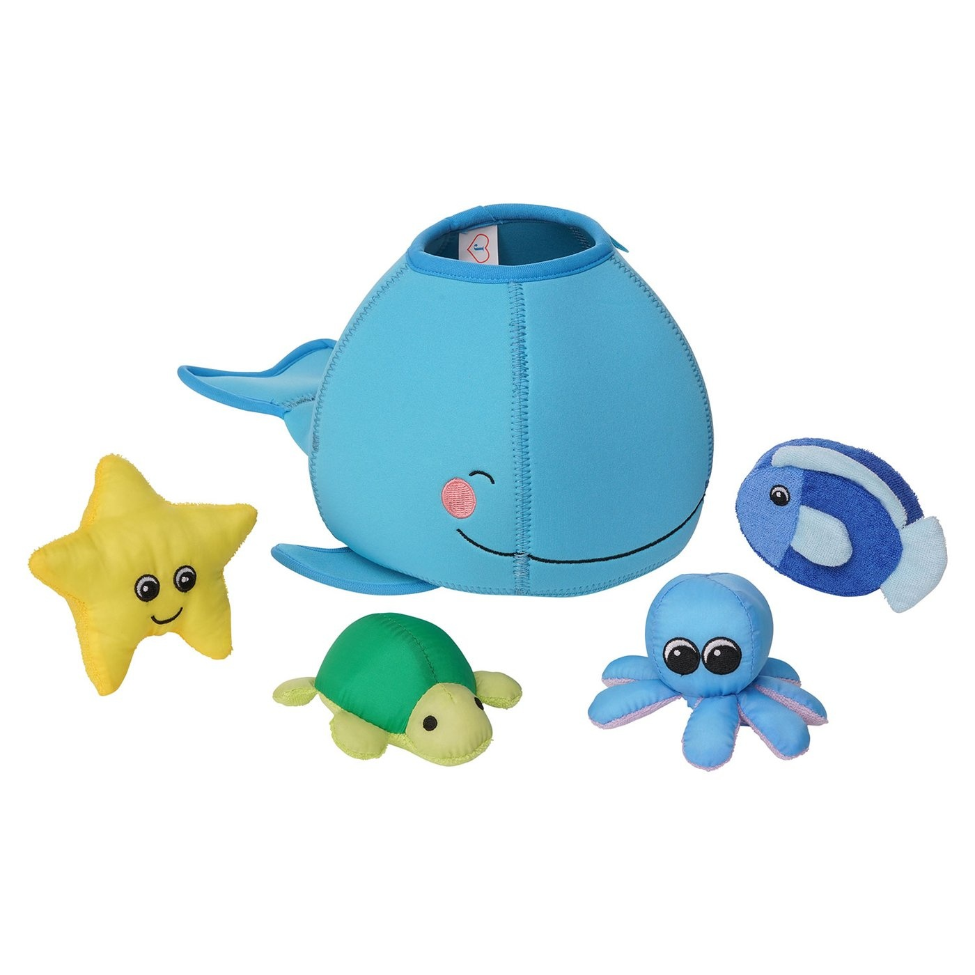 Manhattan Toys Floating Fill and Spill Bath Toys - Whale