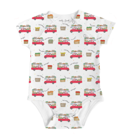 Nola Tawk Farmer's Market On Wheels Organic Cotton Onesie