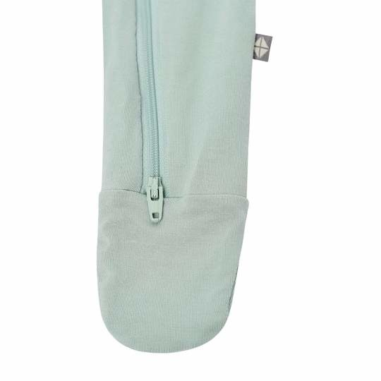 Kyte Baby Kyte Baby Bamboo Zippered Footie - Sage