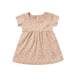 Quincy Mae Quincy Mae Organic Cotton Dress - Blossom Petal