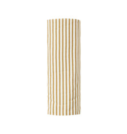 Quincy Mae Quincy Mae Organic Cotton Swaddle - Gold Stripe