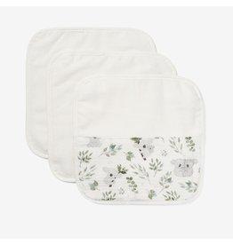 Elegant Baby Organic Baby Washcloth Set - Koala