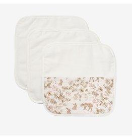 Elegant Baby Organic Baby Washcloth Set - Bunny