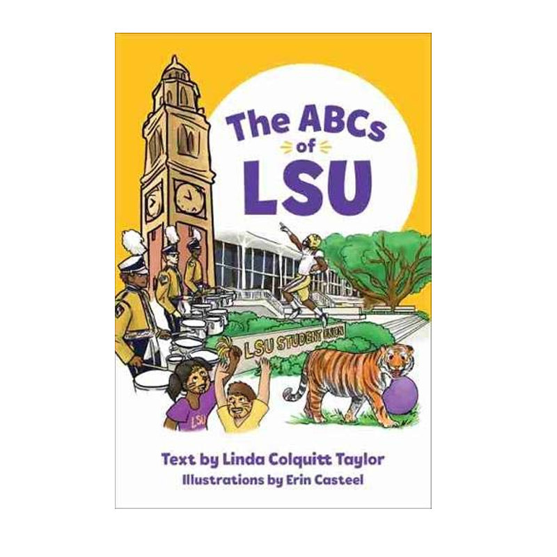 Books The ABCs of LSU Hardcover Book