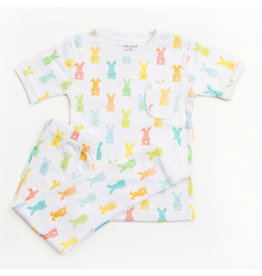 Nola Tawk Somebunny Loves You Organic Cotton PJ Set