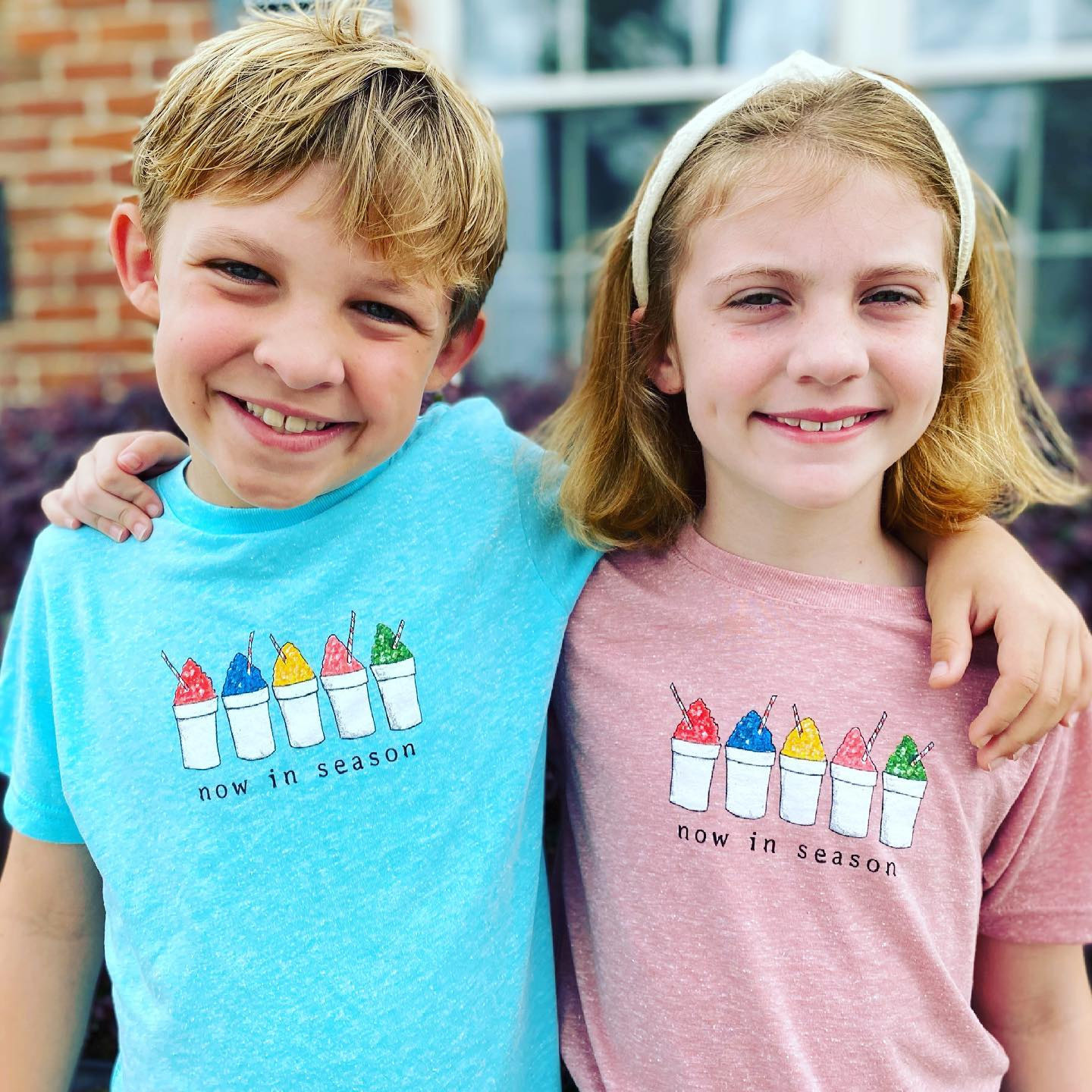 Two Sprouts Snoball Mauvelous Pink Melange Children's T-shirt