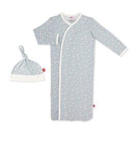 Magnetic Me Fly Like A Seagull Modal Magnetic Gown & Hat Set