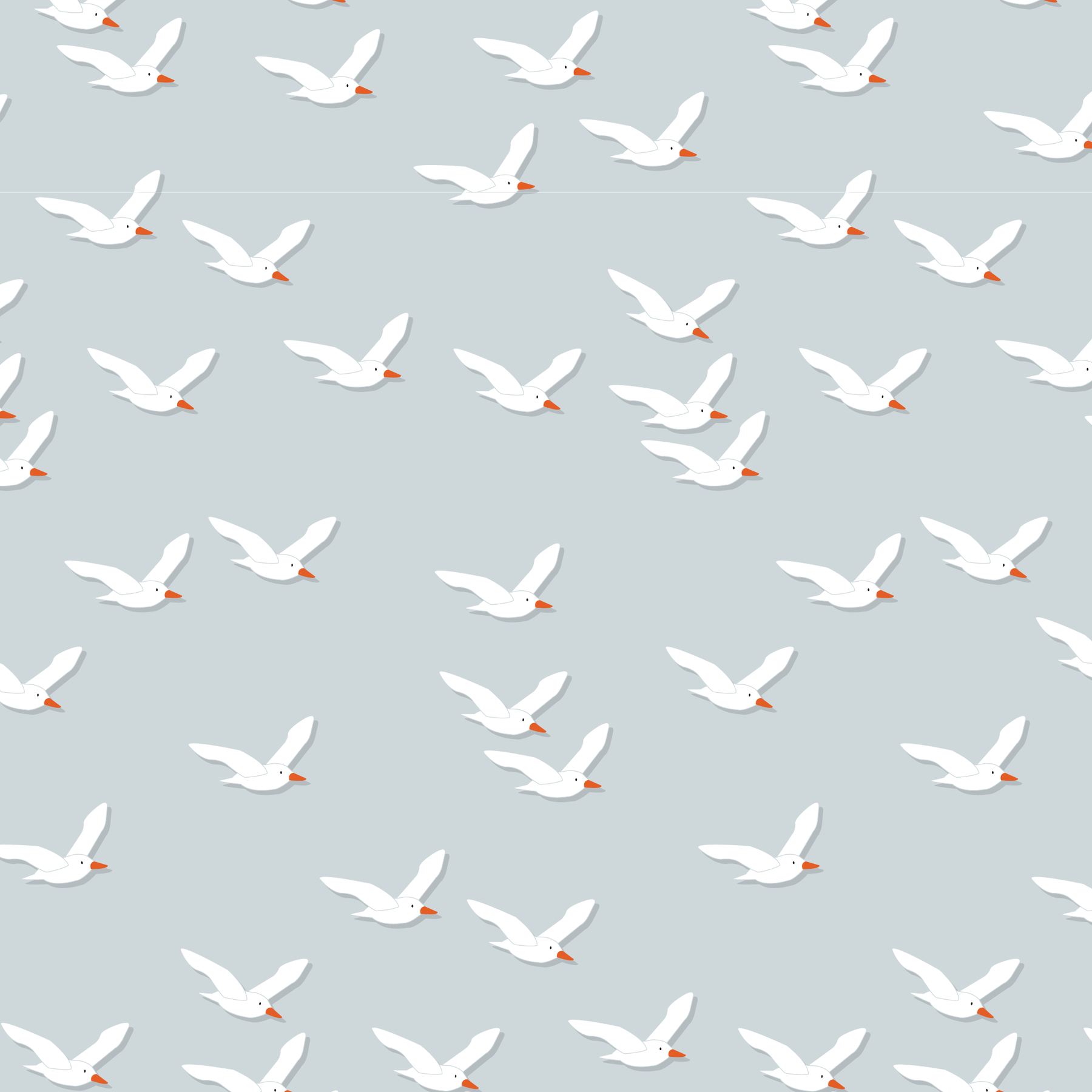 Magnetic Me Fly Like A Seagull Modal Swaddle Blanket