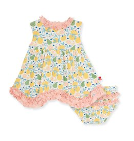 Magnetic Me Citrus Bloom Modal Magnetic Dress and Diaper Cover