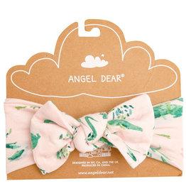 Angel Dear Pink Gators Bamboo Headband