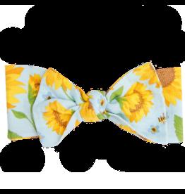 Angel Dear Sunflowers Headband Whispering Blue (12-24 mo)